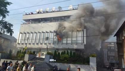 """Пожежа на """"Інтері"""": порушено ще одну справу"""