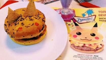 В московском ресторане посетителей напугали бургерами-покемонами