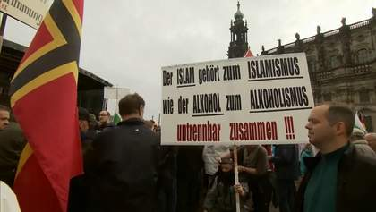 Декілька тисяч антиісламістів зібрались на мітинг у Німеччині