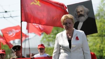 Экс-коммунистку Александровскую выпустили из СИЗО
