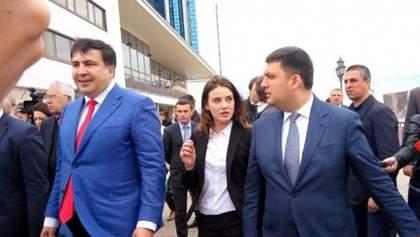 Они выбрали Насирова и потоки, – Саакашвили прокомментировал отставку Марушевской