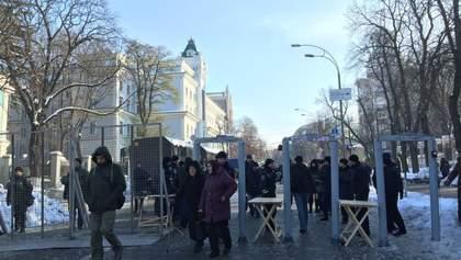 Полиция посчитала сколько людей митинговали в центре Киева