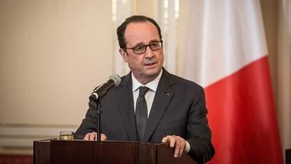 Олланд відмовився боротися за крісло президента
