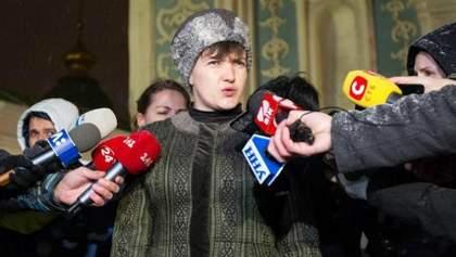 Шапка Савченко, безвизовые обещания Порошенко и новое лицо Герман: самое смешное за неделю