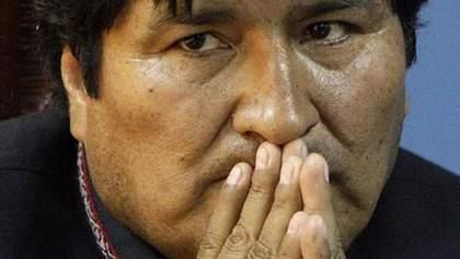 Президента Боливии поймали на горячем во время просмотра порно
