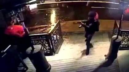 Расстрел клуба в Стамбуле: появилось видео нападения