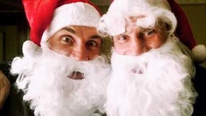 З'явилися фото, як брати Клички зустрічали Новий рік