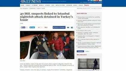 В Турции задержали россиян, которые вероятно причастны к теракту в Стамбуле