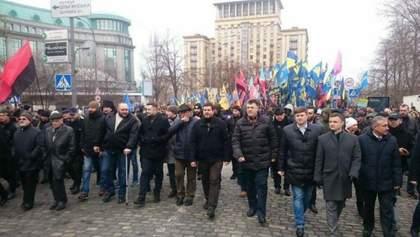 Хронология протеста: как националисты ходили к Порошенко