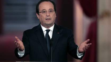 Поліцейський відкрив вогонь під час виступу президента Франції: з'явилось відео