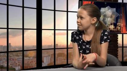 Дівчинка з Донбасу вразила відповіддю на провокативне питання російського ведучого: відео