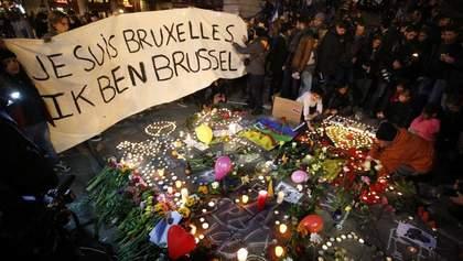 В Брюсселе чтят память жертв терактов 22 марта