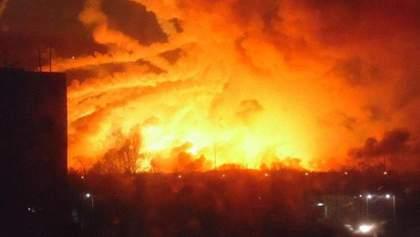 Что стало причиной взрыва на военных складах неподалеку от Балаклеи?