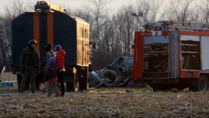 Всі загиблі внаслідок катастрофи вертольота – офіцери ЗСУ