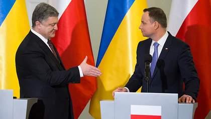 Порошенко обговорив з Дудою обстріл консульства у Польщі