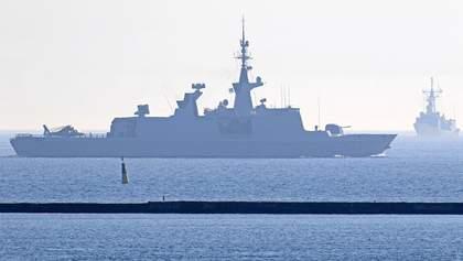 В Одесский порт вошли военные турецкие корабли: опубликовали фото