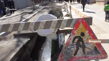 Как Феодосия страдает от нечистот из-за проблем с канализацией