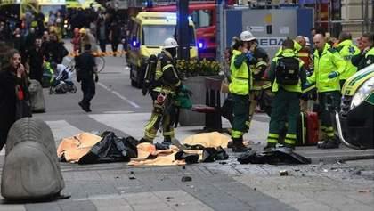 Теракт в Стокгольме: стало известно о резонансной детали