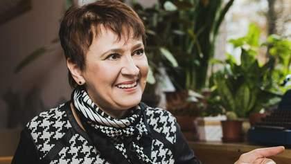 """Забужко згадала, як пропагували """"руській мір"""" на Донбасі ще з 90-х"""