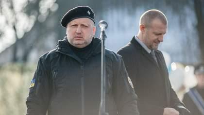 Турчинов звинуватив Росію у підриві авто ОБСЄ: офіційна заява