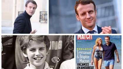 Очаровательный и амбициозный Макрон. Интересные факты о самом молодом президенте Франции