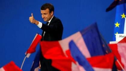 Макрон официально стал новым президентом Франции