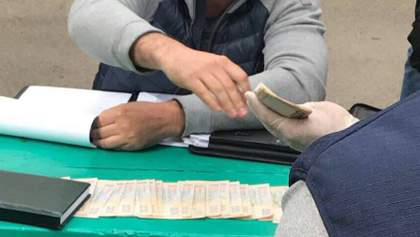 Аваков показал пойманных чиновников-взяточников