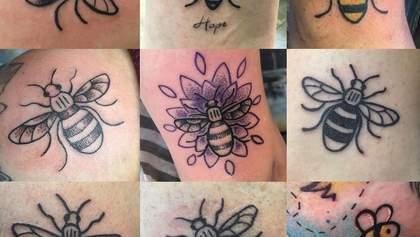 Тату у формі бджоли: британці започаткували флешмоб в пам'ять про загиблих у Манчестері