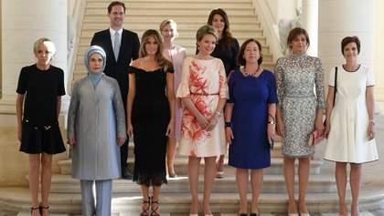 """У Білому домі """"забули"""" згадати про першого джентльмена Люксембурга поруч з Меланією Трамп"""