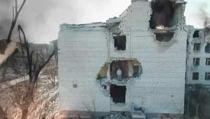 В Краматорске презентовали фильм об обстреле города террористами