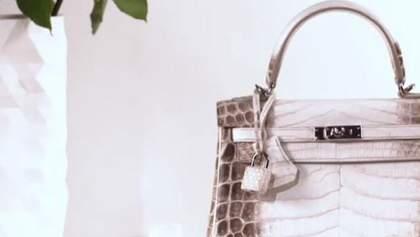 На аукционе продали самую дорогую сумку в мире: фото