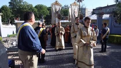 Патриарх Любомир Гузар попрощался с родным Львовом