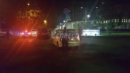 Взрыв прогремел на территории посольства США в Киеве: фото с места инцидента