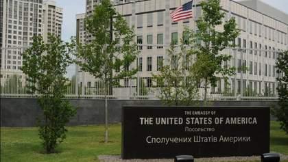 У посольстві США у Києві не вважають нічний інцидент терактом