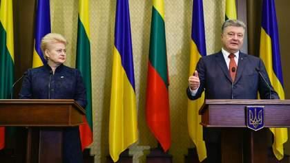 Говорити про подачу Україною заявки на членство в НАТО поки передчасно, – Порошенко