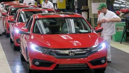 Вірус атакував Honda