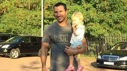 Кличко влаштував тренування з маленькою донькою: зворушливе відео