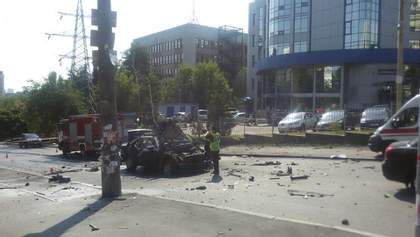Вибух автомобіля в Києві: поліція підтвердила смерть водія