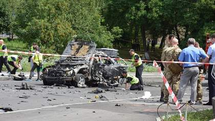 Убийство чиновника разведки в Киеве: полиция сообщила детали взрыва