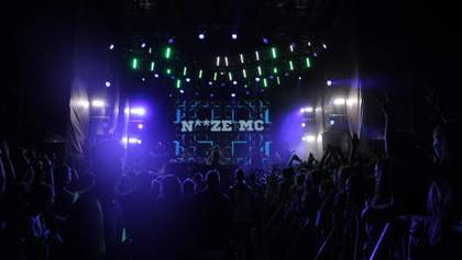 Noize MC взрывающе зажег в последний день на сцене фестиваля Atlas Weekend