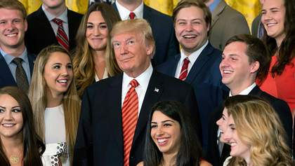 Рисунок Дональда Трампа пойдет с молотка