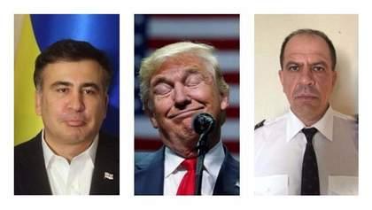Саакашвили до свидания, Трамп против Украины, героический украинский пилот: главное за неделю