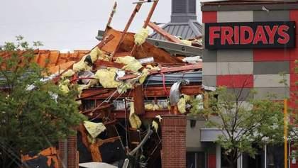 Мощное торнадо в США оставило тысячи людей без света: фото и видео стихии
