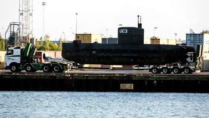 Зникнення журналістки з підводного човна: субмарину підняли на поверхню