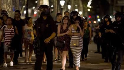 В результате теракта в Барселоне возросло число жертв