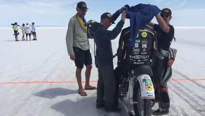 """Украинец установил мировой рекорд скорости на мотоцикле """"Днепр"""""""
