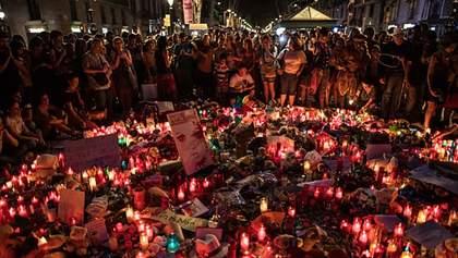 Під час жалобної процесії в Барселоні сталась сутичка