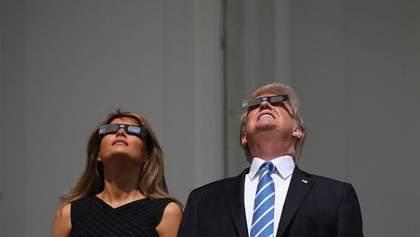Найдовше сонячне затемнення: як політики і спортсмени спостерігали за унікальним явищем