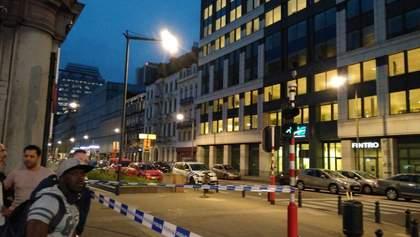 Мужчина с мачете напал на военных в Брюсселе: появились фото