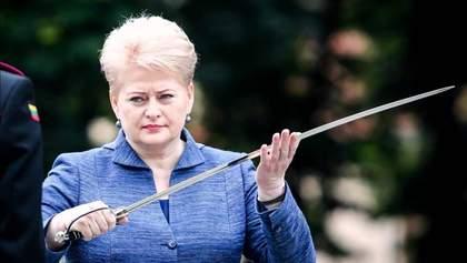 Сильний лідер: Грібаускайте дала відпір Путіну і його вимогам після першої зустрічі